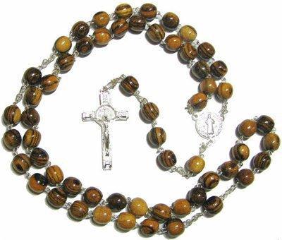 rosario-in-legno-san-benedetto-in-marrone-e-argento-placcato