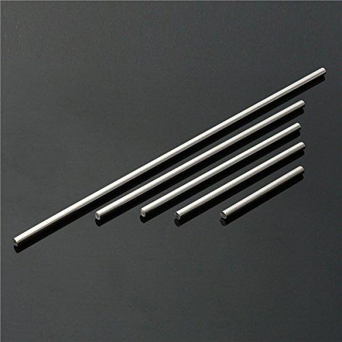 Hitommy 10mm Durchmesser Edelstahl Runde Bar Rod 125bis 500mm Länge 7#
