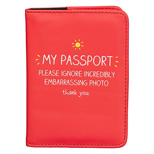 Happy Jackson Cartera para pasaporte, Red (Rojo) - HAP484
