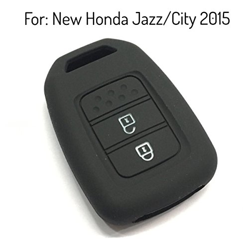 keyzone silicone key cover fit for honda city / jazz 2014 onwards (black) Keyzone Silicone Key Cover Fit For Honda City / Jazz 2014 onwards (Black) 419MlGmNnWL
