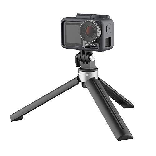 wyxhkj PGYTECH Mini Desktop Stativhalterung Halterung für DJI Osmo Action 4K Kamera (Schwarz) Alloy Digital Kamera