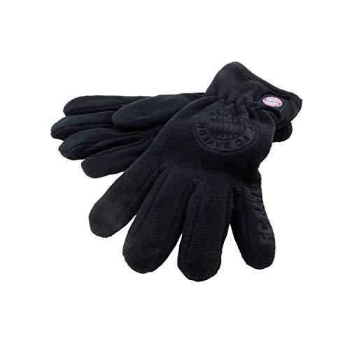 München schwarz + gratis Sticker München Forever/FCB, Fleece-Handschuhe Logo, Gloves, guantes, gants (5) ()