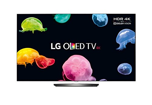 LG 165.1 cm (65 inches) OLED65B6V 4K UHD LED TV (Black)