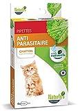 Naturlys - Produit Naturel - Pipette anti-parasitaire Insect Plus pour chats - Naturly's