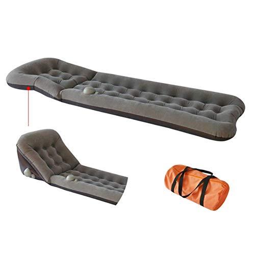 YL-light Kampierendes aufblasbares Bett, das im Freien automatisches aufblasbares bewegliches, aufblasbares Schlafsofa befeuchtet,Gray
