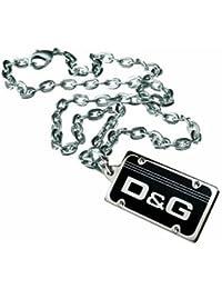 541016594551 Dolce Gabbana DJ0640 - Collar de Hombre de Acero Inoxidable
