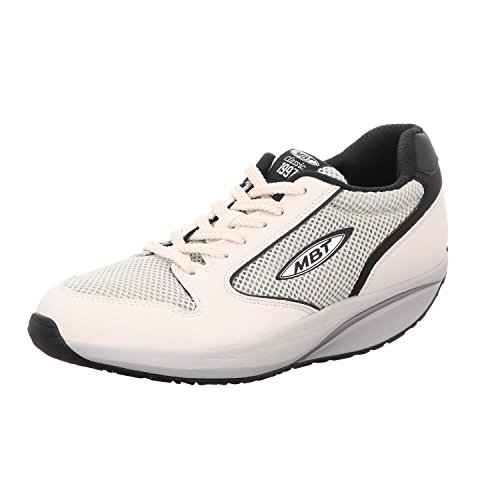 MBT 1997 W Ivory Black Damen Sneaker mit Abrollsohle ivory/balck