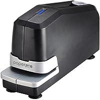 PaperPro 02210-220V-EU - Grapadora eléctrica, con compartimiento magnético, 25 hojas, color negro