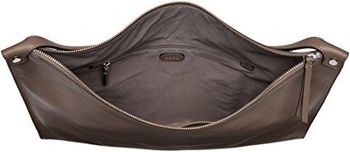 Ecco Damen Sculptured Shoulder Bag Schultertasche Grau (Grey)