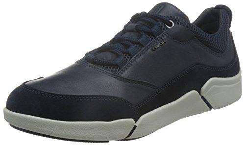 Geox U Ailand A, Baskets Basses Homme Blau (NAVYC4002)
