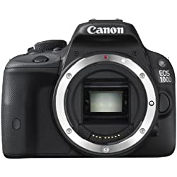 Canon - EOS 100D - Appareil Photo Numérique - Réflex 18,4 MP - Boîtier Nu - Noir