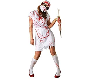 Guirca 80482 - Enfermera Zombie Adulta Talla L 42-44
