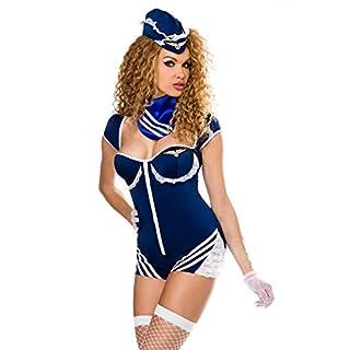 Retro Stewardess-Kostüm XS-M