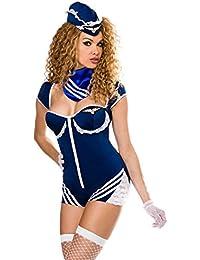 Retro Stewardess-Kostüm