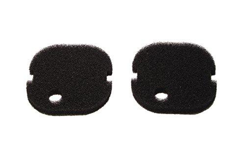 LTWHOME Compatible Noir Excellent Mousseux Filtration Convient pour AquaOne Aqua One AQUIS 700/750 et 500/550 (Paquet de 2)