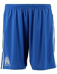 adidas OM 3 SHO - Pantalón corto para hombre, color azul / blanco