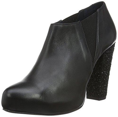 Shoe Biz Bjã˜RK, Scarpe con Tacco Donna, Nero (Velvet Black Glitter Black Heel), 40 EU