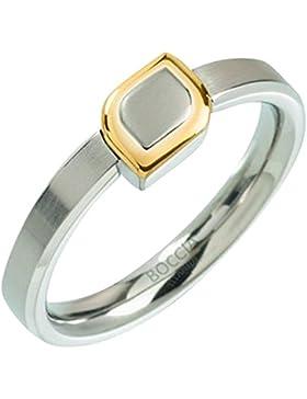 Boccia Damen-Ring Titan teilvergoldet Gr. 54 (17.2) - 0142-0254