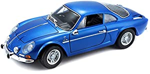 Bburago Maisto Francia Coche Miniature-Alpine Renault 1600S Stradale 1971-echelle 1/18, m31750, Azul