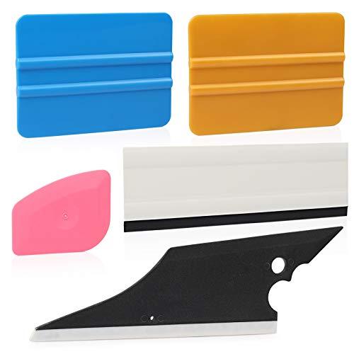 Ehdis!! 5 pcs Installation Tool Kit for Automobile Car Vinyl Film Wrap Trim Window Tint Works, Car Squeegee Set Kit by Ehdis