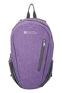 Mountain Warehouse Espirit 10L Backpack – Padded Mesh Straps Ladies Backpack, Tablet Compatible Mens Rucksack, Zip Pocket, Bottle Holders Daysack - Ideal For Travelling Dark Purple