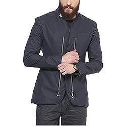 Yepme Men's Blazer (139054_S_Grey_Small)