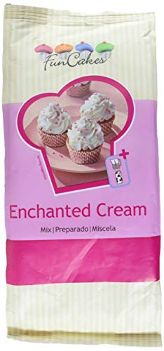 FunCakes Mix für Enchanted Creme , 2er Pack (2 x 900 g)
