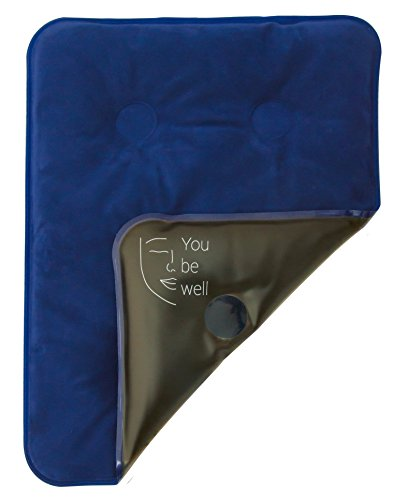 Moorkissen >YouBeWell< / extra weiches Wärmekissen für langanhaltende, schmerzlindernde Wellness - / Moorpackung in den Maßen 30 x 40 cm / Fango Rückenkissen für die Mikrowelle