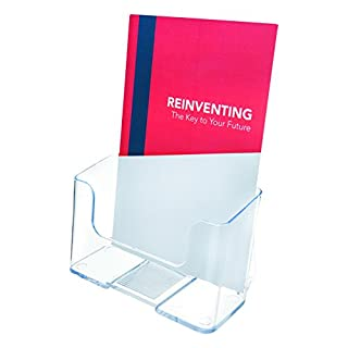 Deflecto Standard Literature Holder Rigid A5 Clear Ref 74901