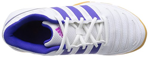 adidas Performance Essence 11 Damen Hallenschuhe Weiß (Ftwr White/Night Flash S15/Flash Pink S15)