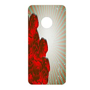 Vibhar printed case back cover for Yu Yunique RedFire