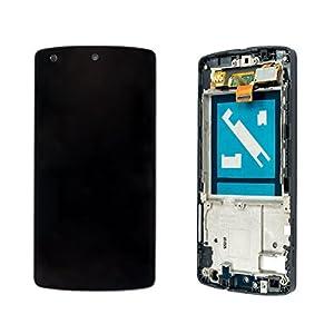 Google Nexus 5 D820 D821 Display Lcd Kompletteinheit Inkl. Rahmen Schwarz Black