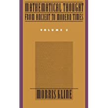 Mathematical Thought from Ancient to Modern Times (Volume 2)