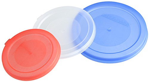 Fackelmann Konserven- und Dosendeckel, Deckel in 3 verschiedenen Größen, Universaldeckel aus Kunststoff - spülmaschinengeeignet, Menge: 1 Stück Test