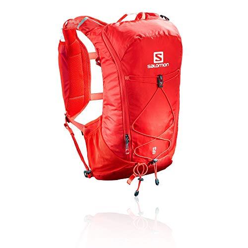 SALOMON Agile Set Mochila para Carrera de montaña, Práctica y Ligera, Capacidad 12l, Bolsa de hidratación incluida, Unisex Adulto