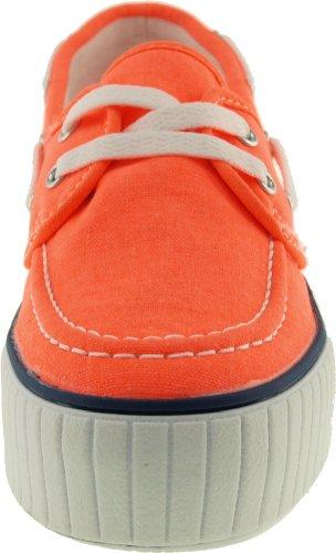 Maxstar C30 Low Platform Boot, Schuhe, Turnschuhe Orange