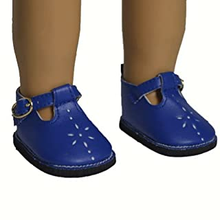 AGD Palace Ã'® for 18 American Girl Doll Clothes Blue New Arrive Shoes Boots by AGD Palace