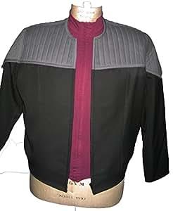 Uniform Star Trek First Contact - Captains Style super deluxe - 3 teilig- Größe: Xlarge