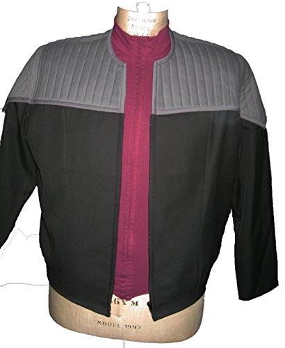 Uniform Star Trek First Contact - Captains Style super deluxe - 3 teilig- Größe: ()