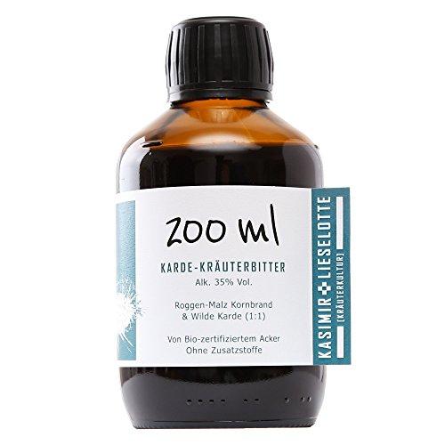 Kardenwurzel Tinktur 200 ml - gewachsen auf Bio zertifiziertem Acker in Brandenburg