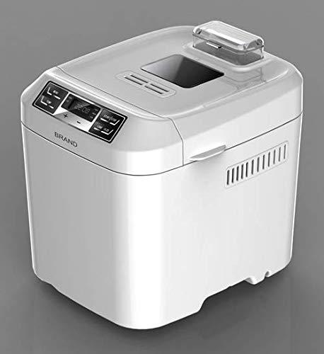 AUCMA BM1333A Panificadora con pantalla LCD 550W máquinas de pan con 6 botones y 12Digital programas, Full Auto proceso Control pan con menú libre de Gluten