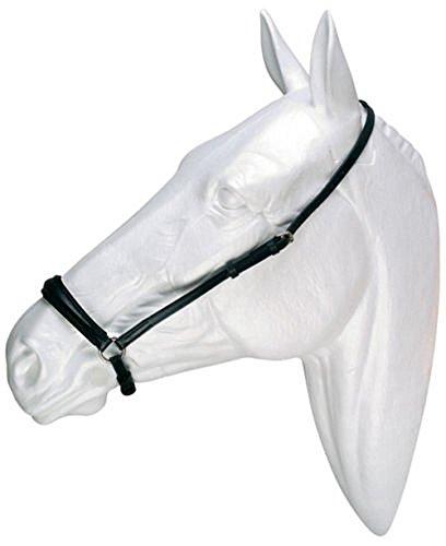 Reithalfter Hannover hannoveranisches Reithalfter Leder schwarz Gr. Pony