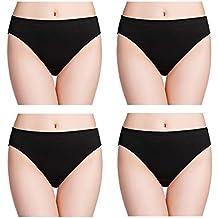 2342eb0a22afb8 wirarpa Unterhosen Damen 100% Baumwolle Slips Breites Bein Unterwäsche 36-58