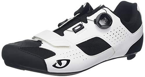Giro Herren Trans (boa) Road Radsportschuhe - Rennrad, Mehrfarbig (White/Black 000), 46.5 EU -