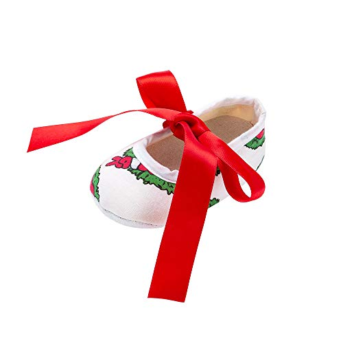 Quaan (11-13 Halloween Niedlich Baby Mädchen Neugeborenes Säugling Baby Kleinkind Schuh Weich Anti-Rutsch Beiläufig Warm elastisch atmungsaktiv Weihnachten LED Mesh Licht Sport Schuhe Turnschuhe