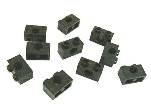 Preisvergleich Produktbild LEGO ® Technic - 40+ Stück - Steine Lochsteine Lochbalken Nr. 3700 - 1 x 2 x 1 - schwarz