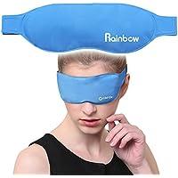 Maschera Occhi in Gel riutilizzabile, uso Caldo e Freddo terapia, aiuta a lenire occhi gonfi, occhi stanchi, mal di testa, postumi di una sbornia, emicranie e occhiaie