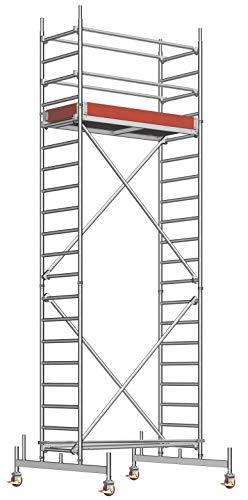 Layher Fahrgerüst Uni Leicht Arbeitshöhe 6,30 m