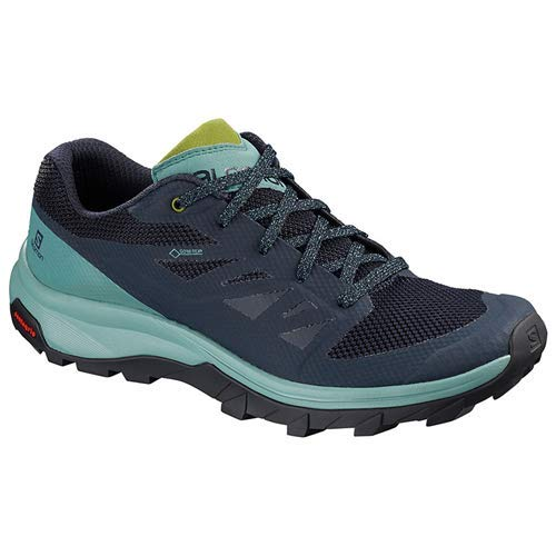 Salomon Outline GTX Shoes Women Trellis/Navy Blazer/Guacamole Schuhgröße UK 7 | EU 40 2/3 2019 Schuhe