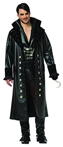 Once Upon Time A Kostüm - Once Upon A Time Hook Adult Costume XLarge
